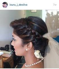 srilankan hairstyle pin by yashodara rathnathilaka on kandian brides pinterest