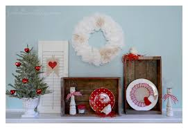 Valentine Home Decorations A Valentine U0027s Day Mantel The Thrifty Crafty Way Fox Hollow