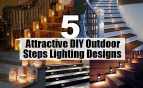 outdoor step lighting ideas