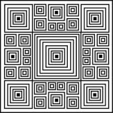 illusions coloring pages 25 best geometric coloring patterns images on pinterest mandalas