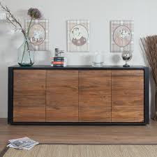 meuble cuisine teck meuble cuisine buffet luxe buffet en teck 4 portes akhal ethnique