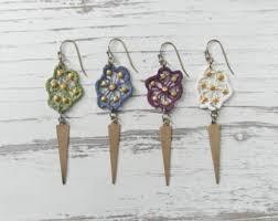 eco friendly earrings seamless circles lightweight eco friendly earrings