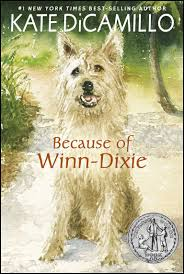 because of winn dixie by kate dicamillo book and