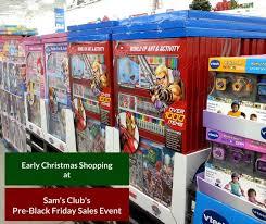 black friday early sales early christmas shopping at sam u0027s club u0027s pre black friday sale