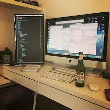 Imac Desk by Regrann From Programmerrepublic Cool Setup Photo Robfenech
