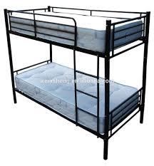 Double Deck Bed Student Dormitory Double Deck Bed Metal Bunk Bed Steel Bunk Bed