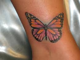 great butterfly ankle tattoos ideas and meanings butterfly