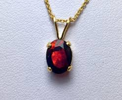 red opal necklace images Black opal pendant gold filled necklace red opal pendant jpg