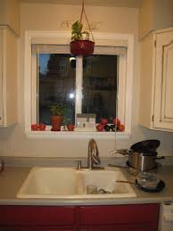 Kitchen Windowsill Kitchen Sink House Organization