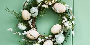 Sainsbury S Blue Christmas Decorations by Brighten Up The Easter Holidays With These Decorative Wreaths