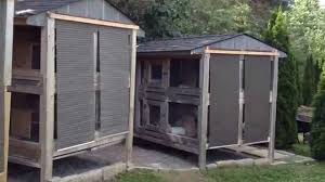 Cheap Rabbit Hutch Canadian Rabbit Hutch Sun Shade Youtube