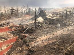 Wildfire Ranch by Not A Lot Left U0027 Ranch Near Waterton Ravaged By Southern Alberta
