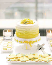 a modern yellow and white wedding in toronto martha stewart weddings
