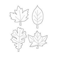leaf templates jpg patterns leaves fall projects
