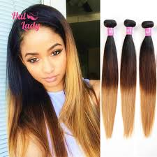 ombre weave aliexpress buy 7a brown ombre hair 3 three tone