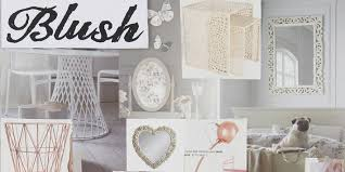 recreate our blush home décor trend in your home