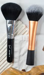 face makeup brushes high end vs drugstore