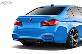 Bmw M3 Back - 2016 bmw 3 series 4dr rear bumper body kit bmw 3 series f30