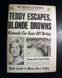 Chappaquiddick Ted Ted Kennedy S Car Containing The Of Joe Kopechne Pulled