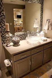 Mosaic Bathroom Mirror 31 Ideas Of Using Mosaic Tile Around Bathroom Mirror