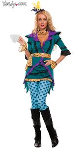 Mad Hatter Halloween Costumes Girls Madness Costume Flirty Mad Hatter Costume Polka Dot Tea Madness