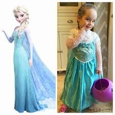 Elsa Frozen Halloween Costume Diy Frozen Costume Sew Halloween Costumes Family