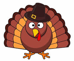 happy thanksgiving turkey clipart black and white cliparting