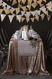 gold large triangle flag pennant banner 11ft buntings party