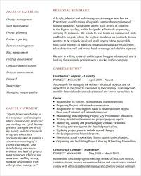 Construction Project Manager Resume Sample by It Manager Resume Sample Commercetools Us
