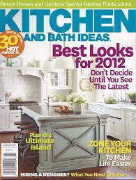 kitchen and bath ideas magazine digiacomo homes and renovation
