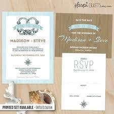 wedding wishes nautical nautical wedding invitation printable invitation by kaspicrafts
