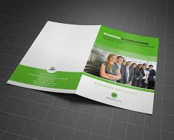 one sided brochure template 2 fold brochure template free the best templates collection