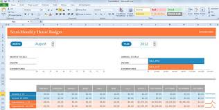 Excel Home Finance Template Monthly Budget Template For Excel 2013