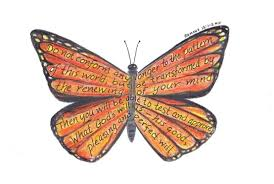 can a butterfly go back inside its cocoon live the