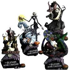 disney the nightmare before formation arts set of 4