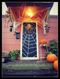 front door halloween decorations halloween decorating from the