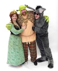Fiona Halloween Costume Shrek Fiona Donkey Pierre U0027s Costumes Mascots