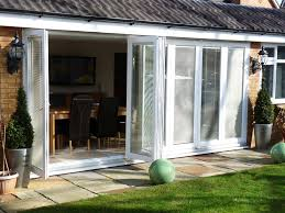 Rehau Patio Doors Seven Pane Made To Measure Folding Sliding Bifold Doors Made From