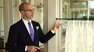 how to hang cafe curtains southern living youtube