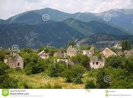 Pyrenees Mountains Map Deserted Village Of Aragon In The Pyrenees Mountains Province Of