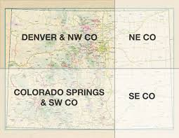 Colorado Maps by Rider Resources U2014
