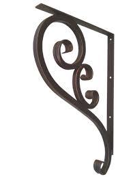 large iron bracket forged heavy duty shoreline ornamental iron