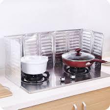 stove splash guard removable frying oil gas stove oil proof splash guard board