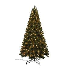 home accents 9 ft noble fir set artificial
