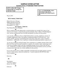 Application Letter Inside Address Letter Format Spacing Best Business Template