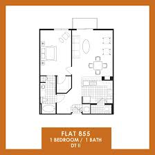 Avalon Floor Plan by Floor Plans Of The Flats At Avalon Park Dtii In Orlando Fl
