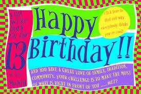 numerology reading free birthday card 13 worldnumerology com