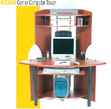 Corner Tower Desk Corner Tower Computer Desk 3d Model Studio Rta A Wood With Hutch