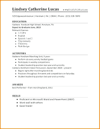 resume templates no experience high school resume exles high school resume exles 5 simple