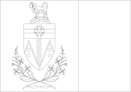 coloring page uganda flag outline map research activity uganda
